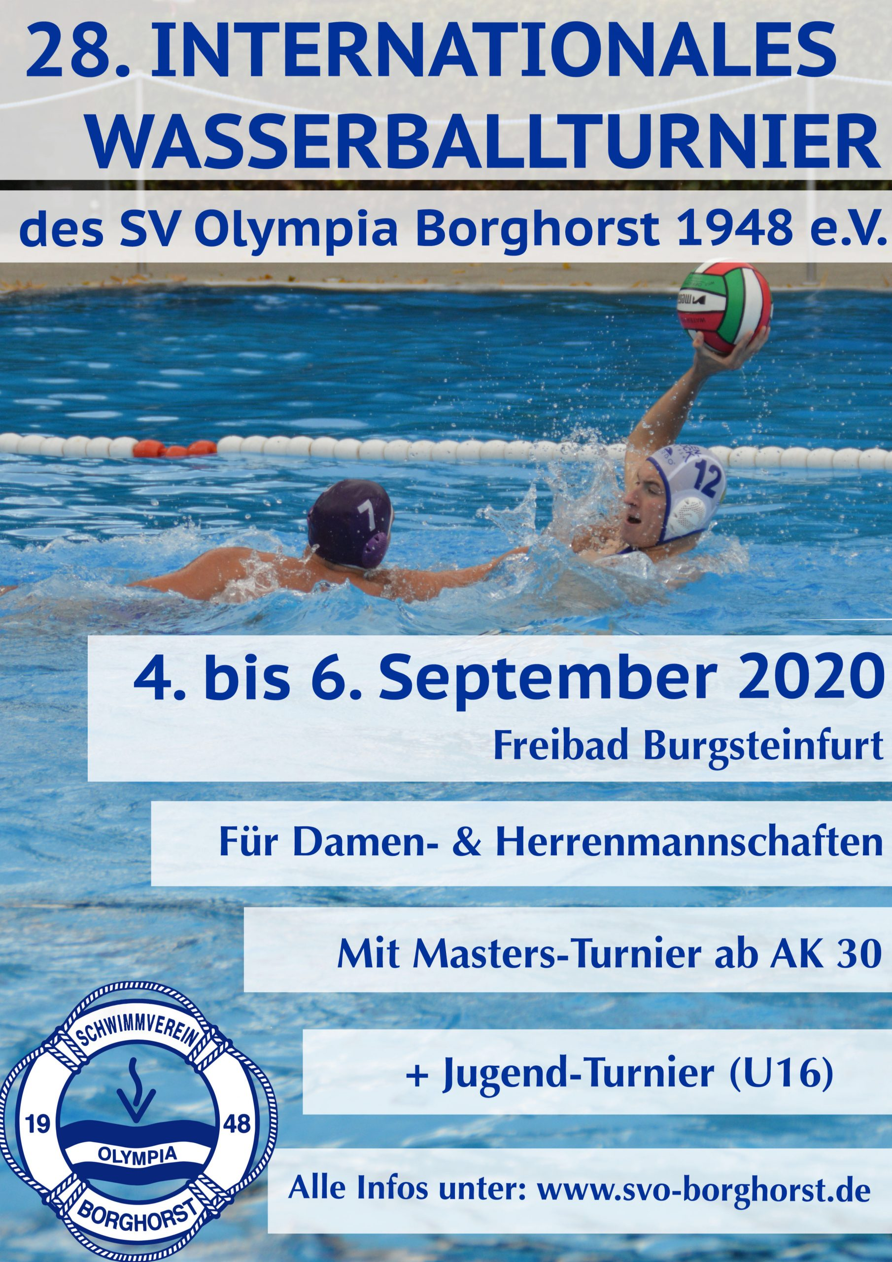 28. Internationales Wasserballturnier