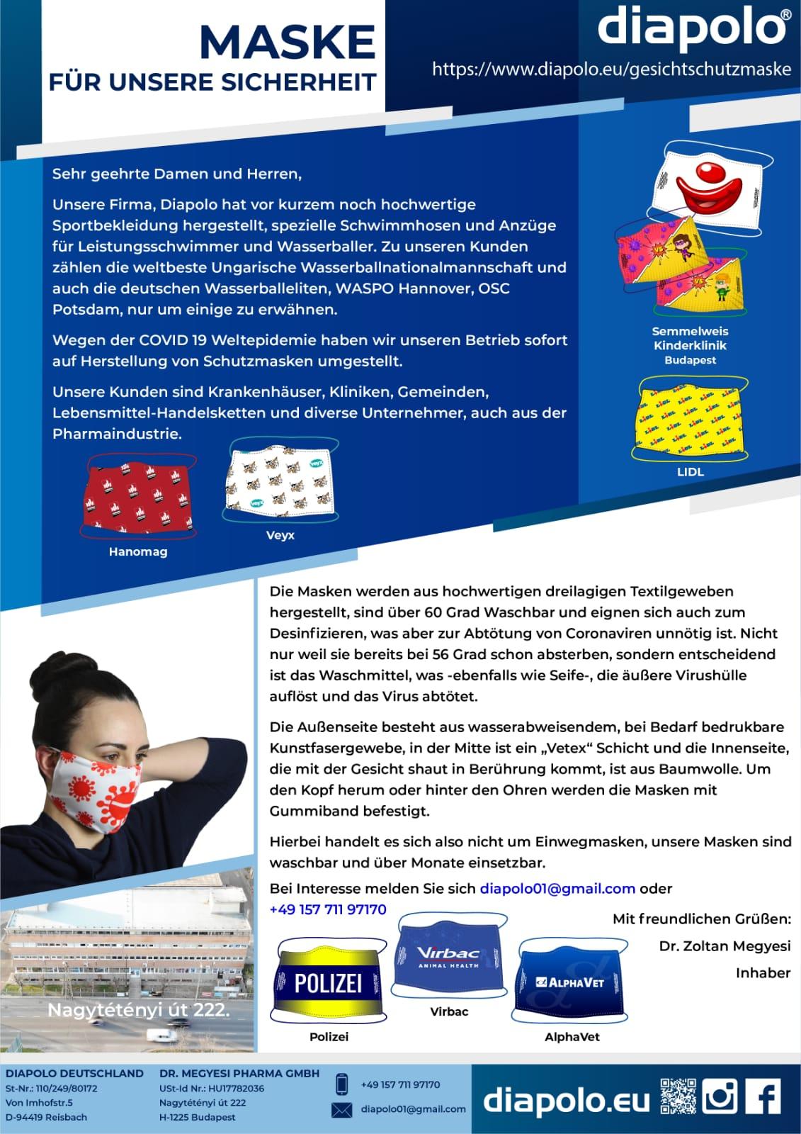 diapolo.eu - Schutzmasken